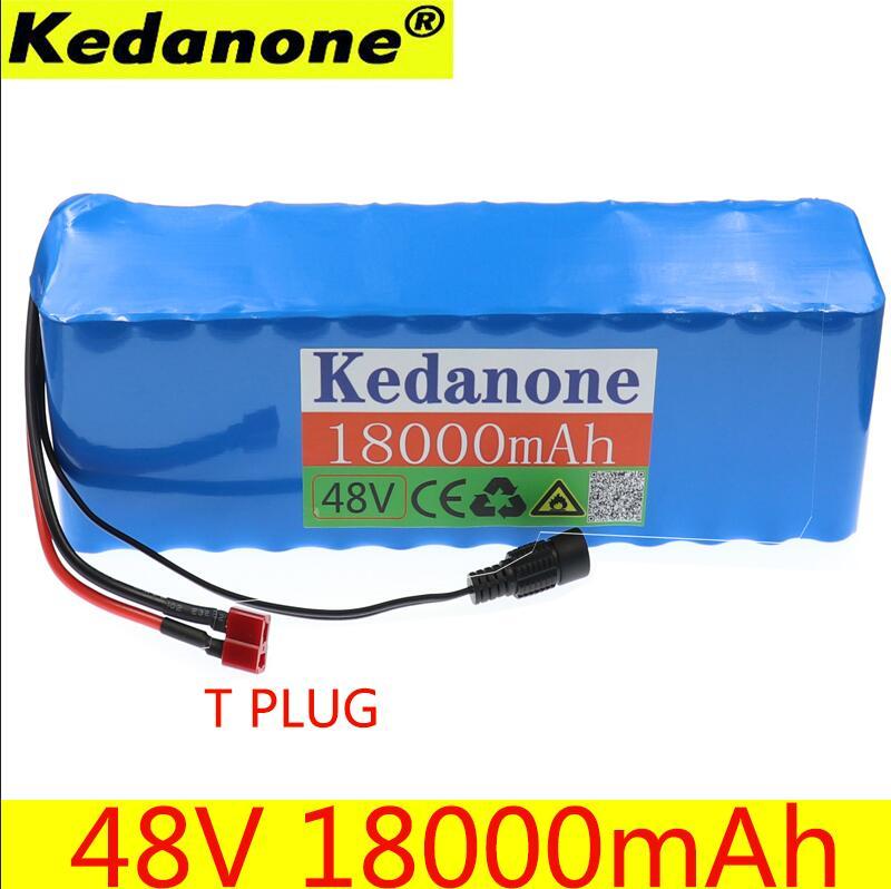 Kedanone 48V 18ah 13s3p alta potencia 18650 batería vehículo eléctrico motocicleta DIY batería BMS protección 3S 25A Li-ion 18650 BMS batería en PCM Placa de protección BMS PCM con equilibrio para li-ion Lipo batería Módulo de celda Original