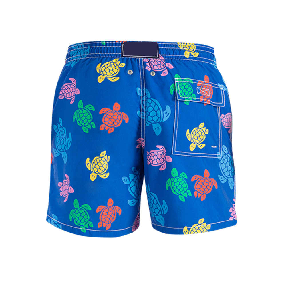 ¡Novedad de 2020! Bañador para la playa de la marca vilebre, bañador de tortugas para hombre, pantalones cortos Hawaianos para hombre, pantalones cortos de playa, trajes deportivos para Surf
