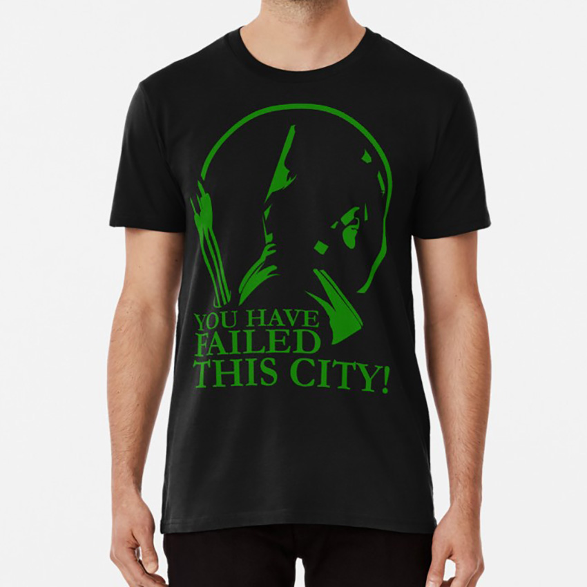 You Have Failed This City! T Shirt Arrow Oliver Queen Queen Consolidated Green Arrow Starling City You Have Failed This City