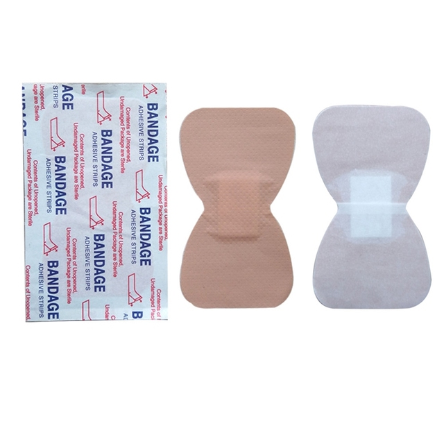 10 шт., водонепроницаемая повязка на рану для путешествий, аптечка первой помощи, Аварийные наборы в форме бабочки