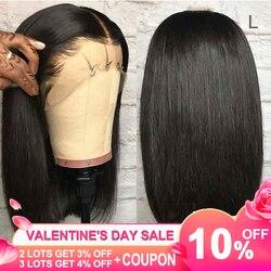 Yyong короткий боб парики Синтетические волосы на кружеве парик человеческих волос для черных Для женщин предварительно