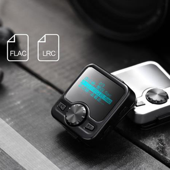 Erilles new portable mini bluetooth MP3 player with touch screen to listen to music walkman with Radio record for Outdoor Sports