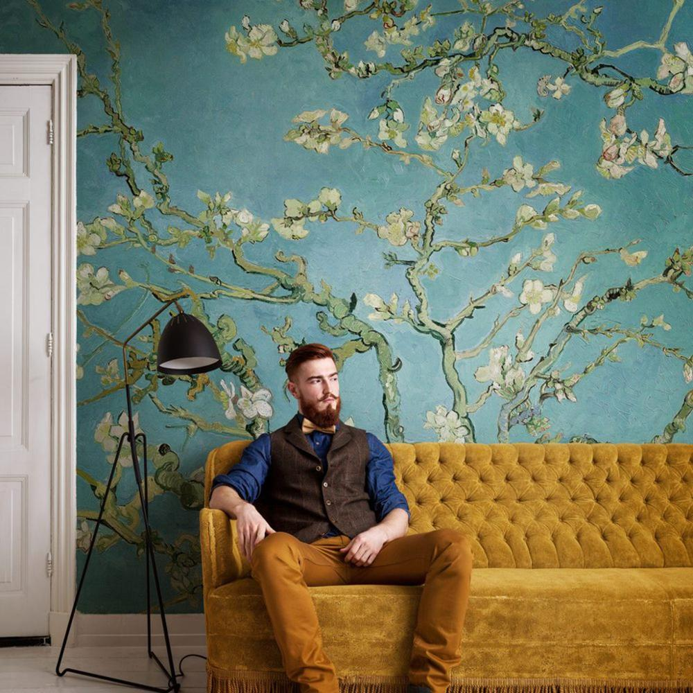 Almond Branches By Van Gogh Oil Paint Mural Wallpape STDM30608