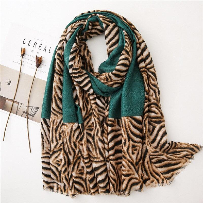 KYQIAO шарф женский hijab scarf winter scarf women Spain style long green patchwork scarf Sjaal Muslim Hijab шарф женский