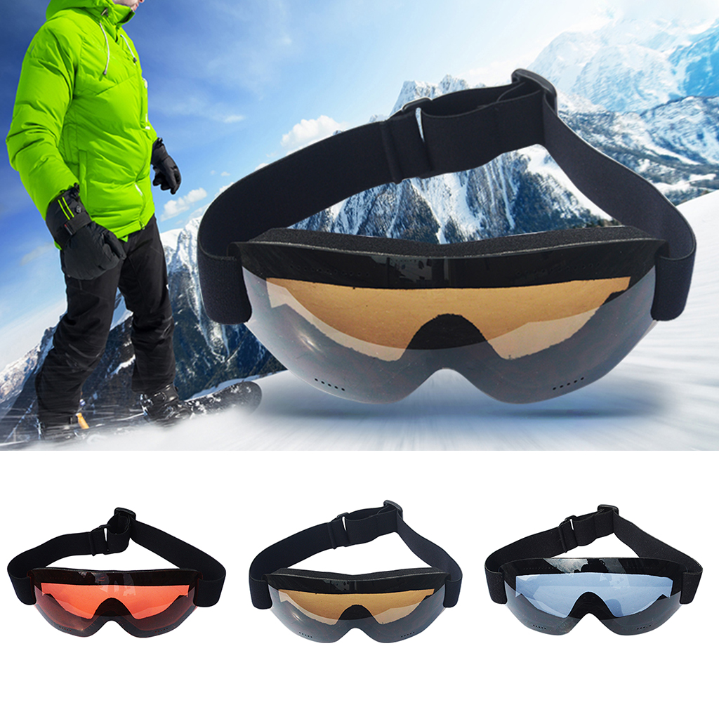 Anti Fog Dust Wind Ski Snow Goggles Helmet Ski Sunglasses Glasses