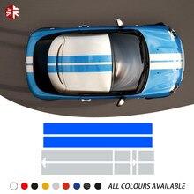Capot de voiture décalcomanie capot rayures toit arrière moteur couverture carrosserie autocollant pour MINI Coupe R58 Cooper S JCW John Cooper travaux accessoires