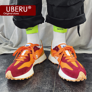 spring and summer new low top color matching tide shoes wild sports shoes running shoes 2020spring and summer new N-shaped sports shoes color matching couple sports running shoes 327 Forrest casual men and womenshoes