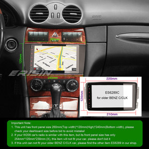 Image 5 - 6283 Android 9.0 Car Stereo 6 Core for Mercedes Benz Class C/CLK/CLC W203 DAB+ TDT 4G WIFI Touch Autoradio Multimedia player
