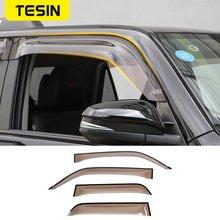 Tesin навесы для toyota 4runner окна автомобиля козырек вентиляционный