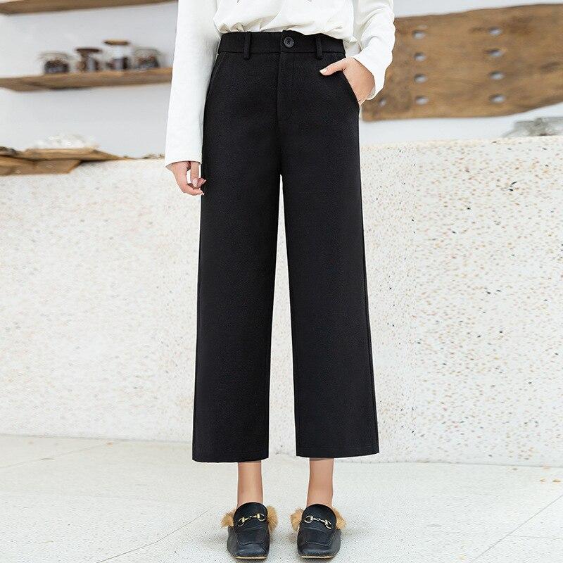 Autumn And Winter Loose Pants Female Autumn WOMEN'S Dress 2018 Pants AliExpress Hot Selling WOMEN'S Dress Casual Capri Pants