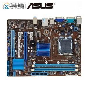 Image 1 - Asus P5G41T M LX3 PLUS Desktop Motherboard G41 Socket LGA 775 For Core 2 Duo DDR3 8G SATA2 USB2.0 VGA uATX Used Mainboard