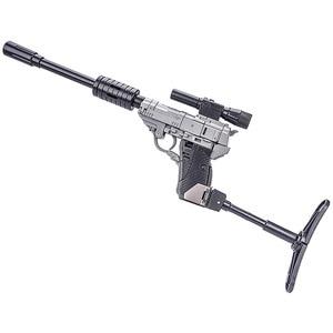 Image 4 - 11 センチメートルミニ NA H9 ABS モデル小さな割合戦争銃変換 AGAMENMNON ロボット玩具 MPP36 G1 MP36 アクションフィギュアコレクション