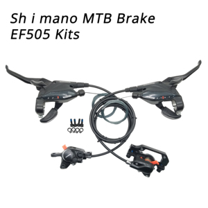 Shimano ST-EF505 BR-M315 3x8S 3x9S 24 27 Speed 27S MTB bike Hydraulic Disc brake Shifter Trigger switch w/inner Cable M315 brake