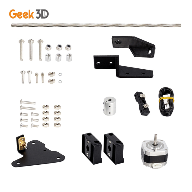 Dual Z Axis Lead Screw Upgrade Kits for Creality CR10 Ender3 Pro 3D Printer Accessories impressora 3d ender 3 pro dual z axis 6