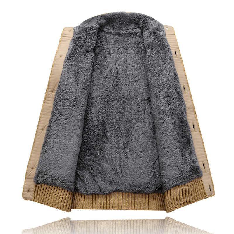 ใหม่แฟชั่นฤดูหนาวฤดูหนาวเสื้อสเวตเตอร์ถักผู้ชาย Patchwork ขนแกะผ้าขนสัตว์ Warm สวมใส่เดียว Breasted หนาเสื้อกันหนาวผู้ชาย