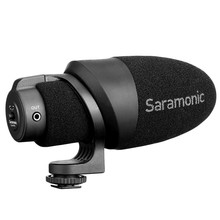 Saramonic Cammic Lightweight On-Camera Microphone with Integrated Shock Mount & Windscreen for Dslr Canon Nikon Cameras(China)