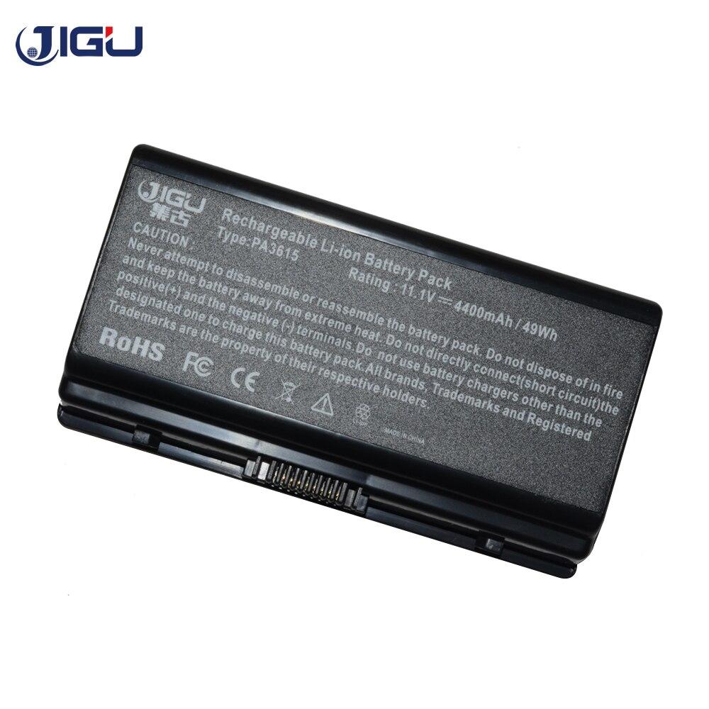 JIGU 4400 mah laptop battery For Toshiba PA3615U-1BRM PA3615U-1BRS PABAS115 For Equium L40 Satellite L40 L45 Series