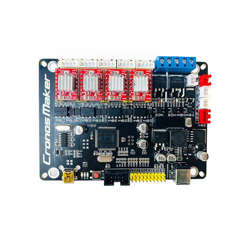 DIY GRBL 4 Axis Motherboard V4.0 For Desktop CNC Router Drawing Laser Engraving Machine Plotter With USB Line