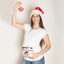 Tops Best-Gifts Pregnancy-Anouncement Tee-Shirts Funny My Print Merry-Christmas