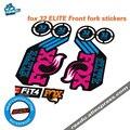 Fox float factory 32  элитные Передние наклейки на вилке  новые наклейки на велосипед  углеродная рама  вилка  стикер  подходит для МТВ  вилка  fox 32  нак...