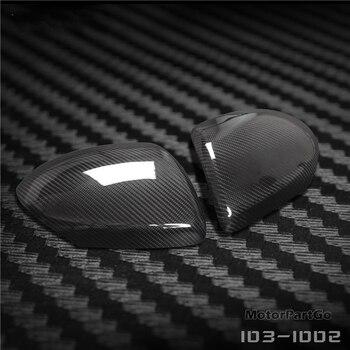 Real Crabon Fiber Mirror Cover Exchange original 1 pair for  Mazda 3 stars 2010-2012 1