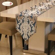 Trots Rose Amerikaanse Borduurwerk Tafel Vlag Tafelloper Tafelkleed Europese Tafelkleed Bed Servet Fashion Home Decor Tafel Vlaggen