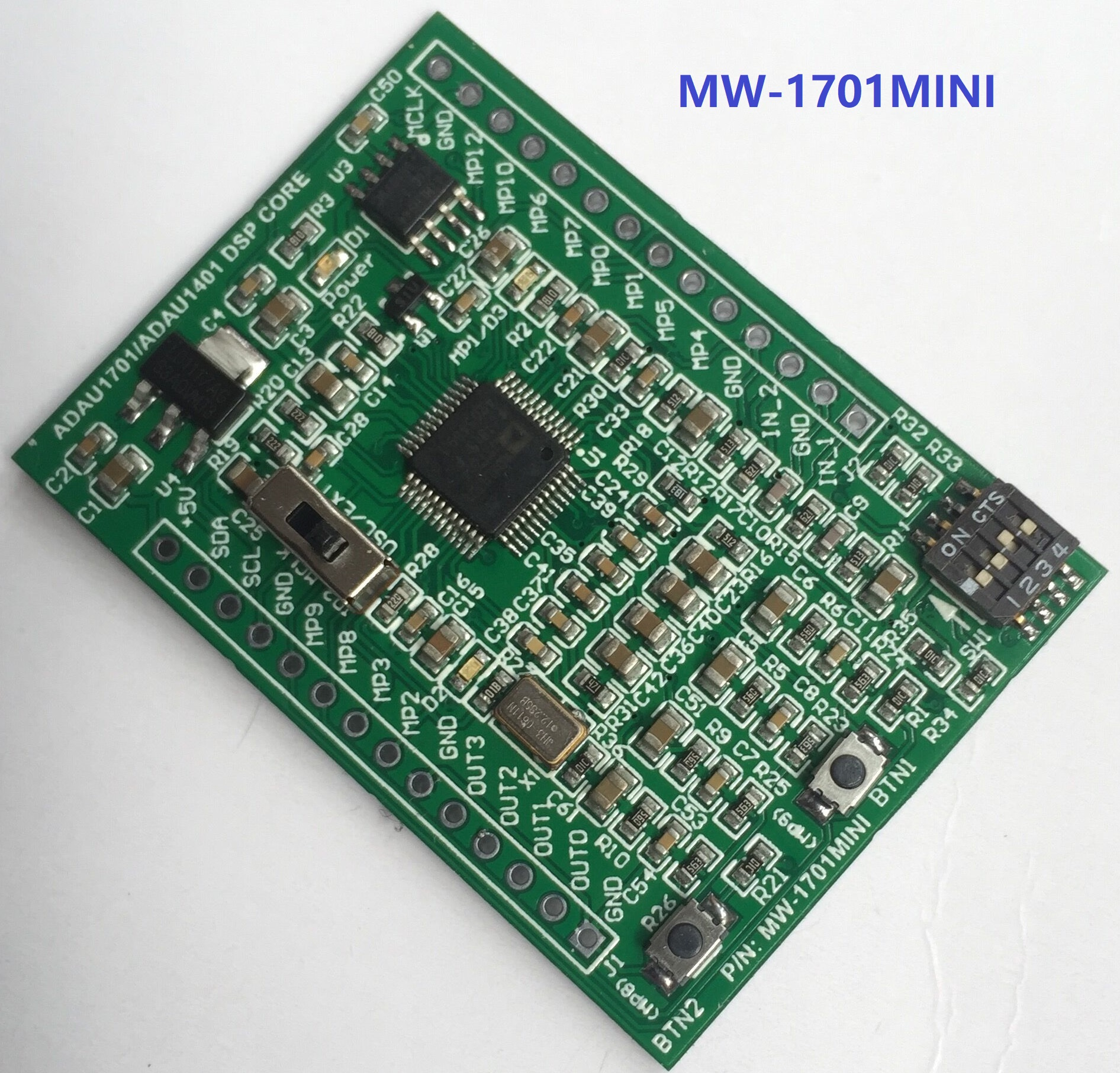 ADAU1701 / ADAU1401 DSP Mini Board