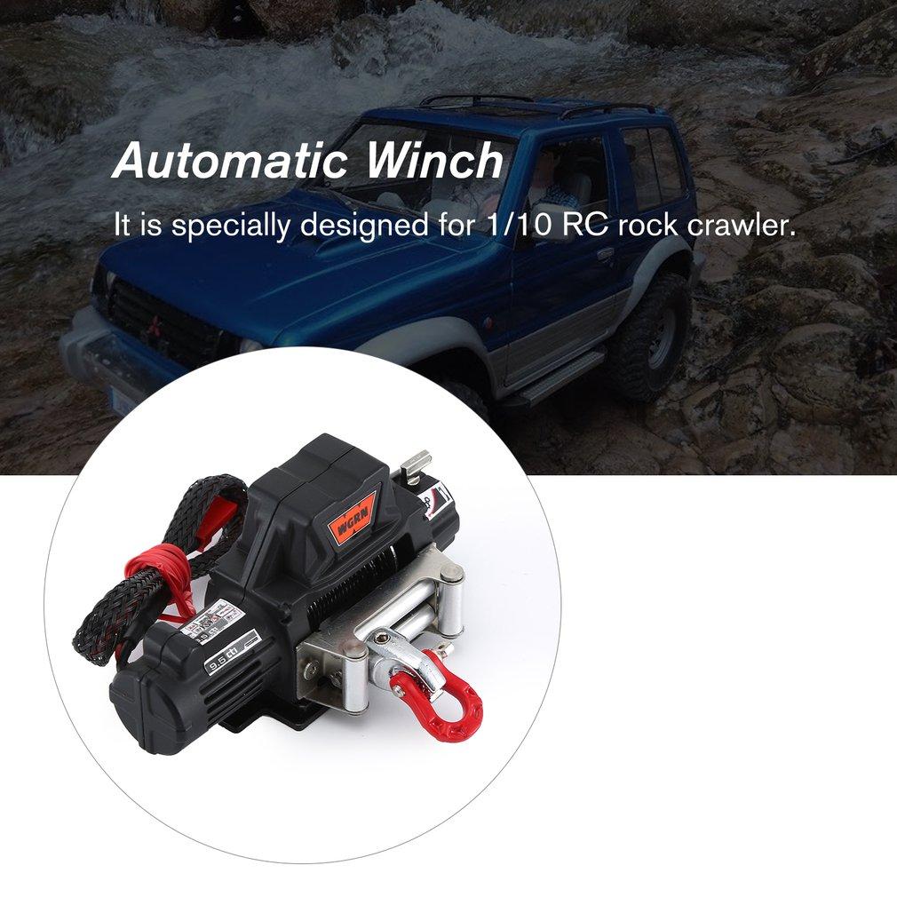 Treuil automatique et récepteur télécommande sans fil B pour voiture à chenilles 1/10 RC, SCX10 TRAXXAS TRX4 D90 TF2 Tamiya CC01