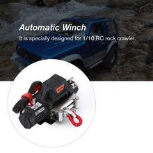 Automatische Lier En Draadloze Afstandsbediening Ontvanger B Voor 1/10 Rc Crawler Auto Axiale SCX10 Traxxas TRX4 D90 TF2 Tamiya CC01