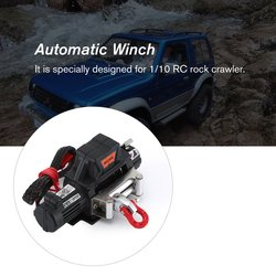 Automatic Winch and Wireless Remote Controller Receiver B for 1/10 RC Crawler Car Axial SCX10 TRAXXAS TRX4 D90 TF2 Tamiya CC01
