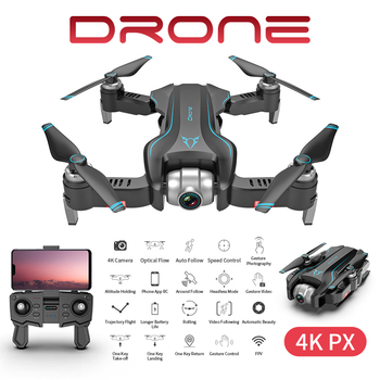 S20W Selfie Drone 4K HD Gimbal Dual Camera WIFI FPV Gesture photo Optical Flow Profesionales RC Quadcopter Helicopter Drone