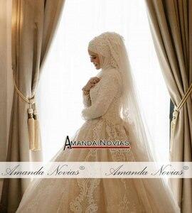 Image 5 - Nuevo diseño vestido de Boda nupcial musulmán