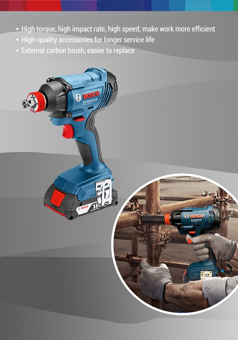 High torque with powerful impact rate