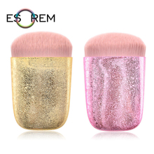 ESOREM Portable Loose Powder Storage Makeup Brushes Synthetic Gorgeous Cosmetic Brush Concealer Shader Brochas Maquillaje