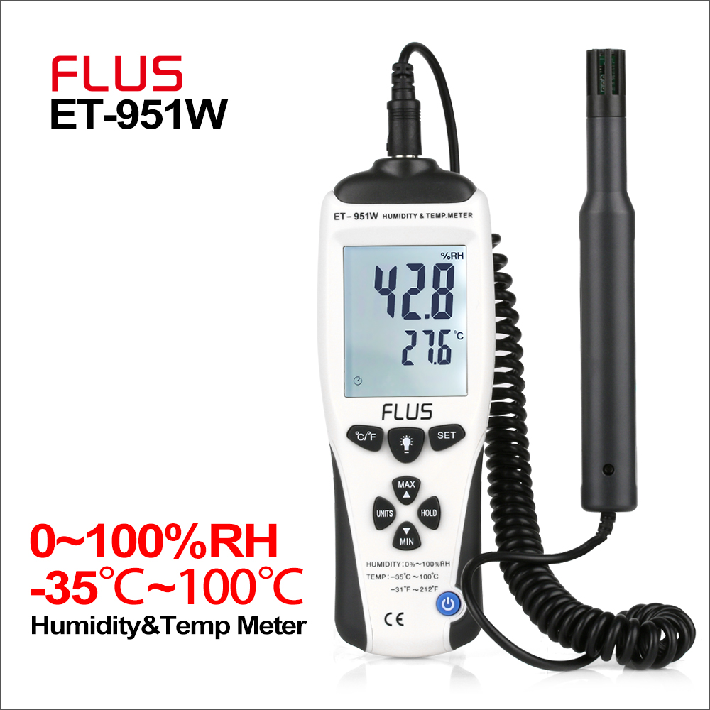 PC USB Hygrometer Thermometer Graden Hid TEMPerHUM Remote Temperatuur Recorder