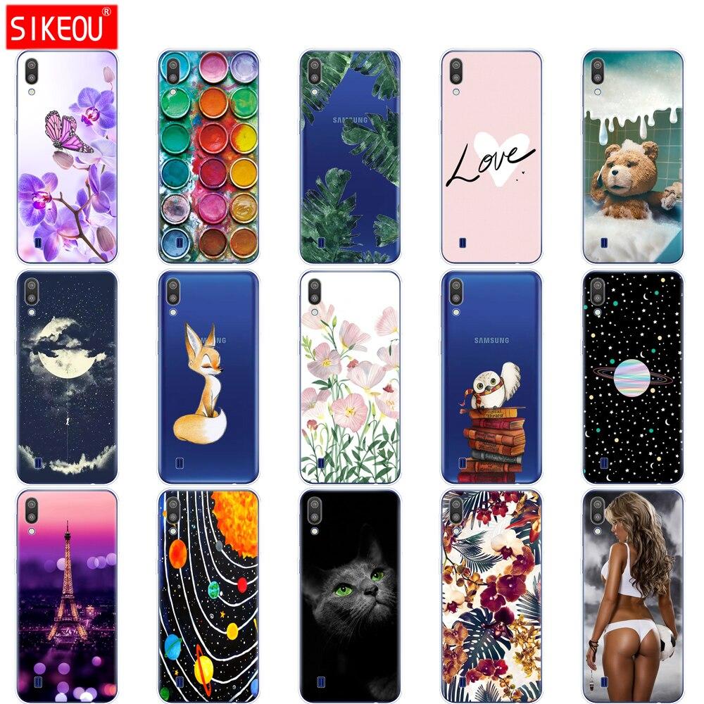 For Samsung Galaxy M10 Cases Galaxy M10 M105f Cover Soft silicon Phone Back Cover For Samsung Galaxy M10 Case Bumper Coque
