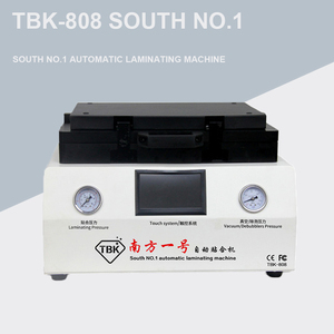 Image 1 - TBK 808 12 inch Curved Screen Vacuum Laminating and Bubble Removing Machine Laminator and Debubbler  For LCD Screen Repairing