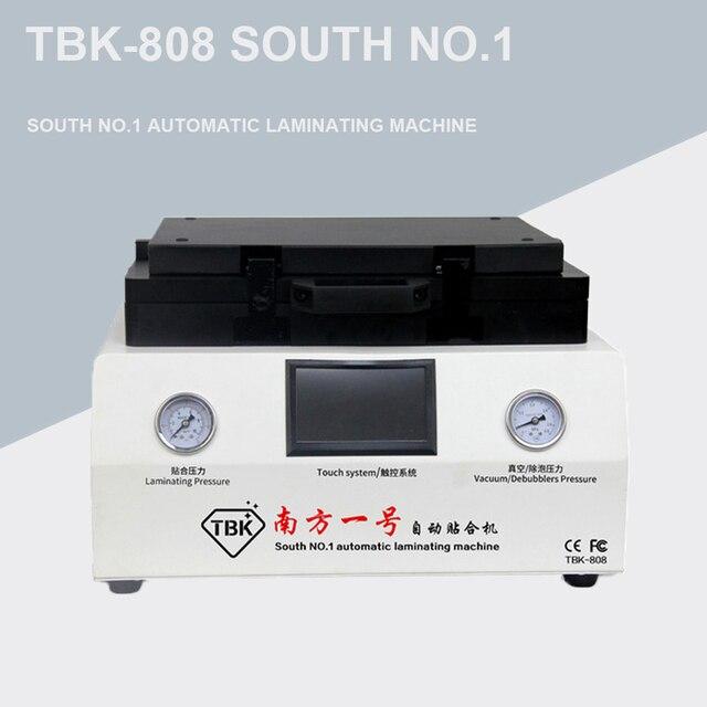 TBK 808 12 بوصة شاشة منحنية فراغ الترقق و آلة إزالة الفقاعات تغليف و ديبوبلر لإصلاح شاشة LCD