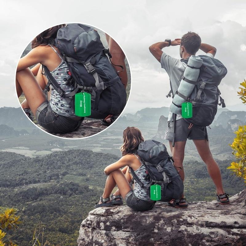 Image 5 - Emergency Sleeping Bag   Waterproof Lightweight Thermal Bivy Sack   Survival Blanket Bags Portable Nylon Sack Camping, HikingSafety & Survival   -