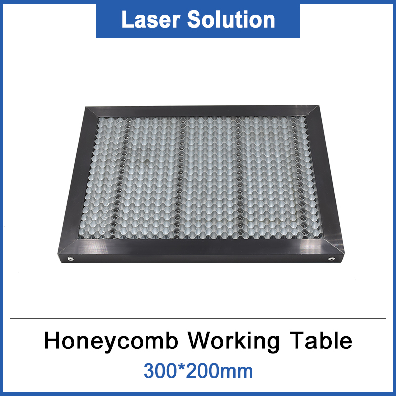 300*200mm Laser Honeycomb Working Table Board Platform Laser Parts For CO2 Laser Engraver Cutting Machine