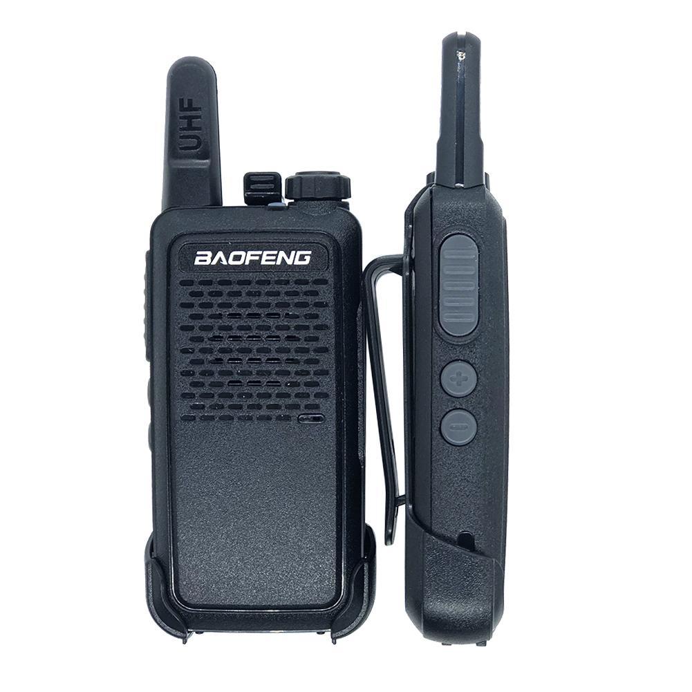 2pcs Baofeng BF-666S Mini Walkie Talkie USB Fast Charge 5W UHF 400-470MHz Ham Portable Radio Set Woki Toki BF-666S 10km