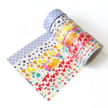 6 stks/set Washi Tape Sterrenhemel Masking Tape Kawaii Tape Kerst Stickers Briefpapier Scrapbooking School Gereedschap(China)