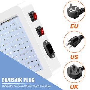 Image 3 - Pełne spektrum 300W 500W oświetlenie LED do uprawy 220V lampa fito dla rośliny doniczkowe i kwiat szklarnia Box 110V ue US UK wtyczka