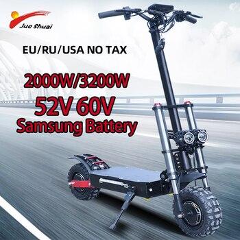 Patinete eléctrico de doble Motor para Adulto, Scooter Eléctrico de 80 km/h,...