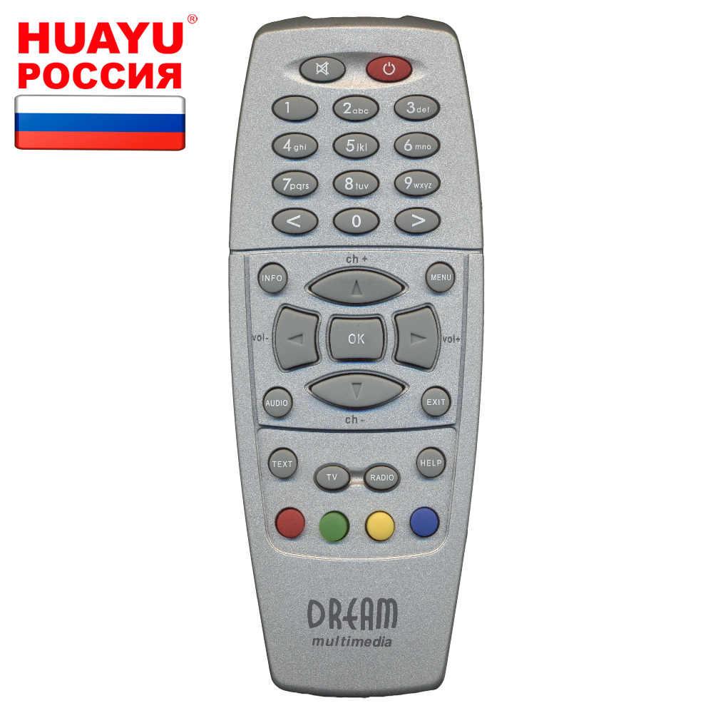 Пульт HUAYU DM-500S для приставок Dream 100S/DM500S/TX907L/TX908L