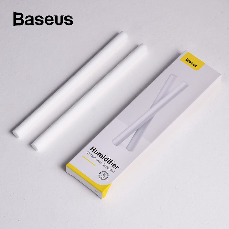 Baseus 2pcs Replacement Filter Cotton Sponge Stick Mini Filter Sponge For USB Humidifier Diffuser Air Humidifier 4 Types