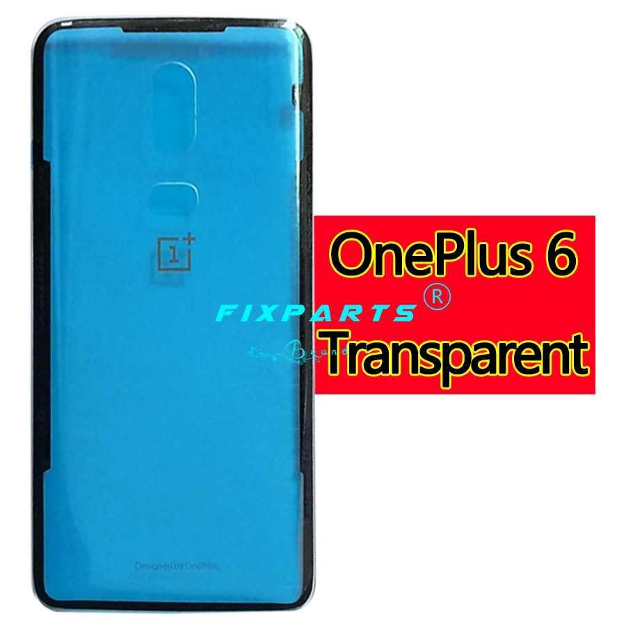 Oneplus 6 סוללה כיסוי חזרה זכוכית Oneplus6 אחורי דלת שיכון מקרה Oneplus 6T בחזרה פנל Oneplus 6 סוללה כיסוי עם דבק