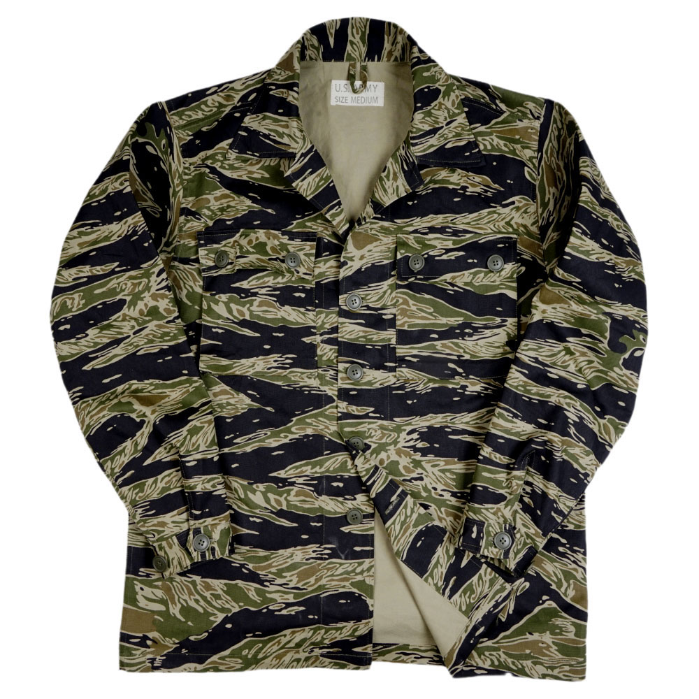 WWII WW2 US Army Tiger Spot Camouflage TCU Cotton Uniforms Jacket Coat