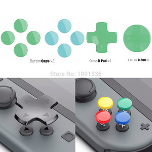 Image 1 - Skull & Co. D Pad Button Cap Set Thumb Grip for Nintend Switch Joy Con Controller Joystick Cover