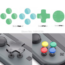 Skull & Co. D Pad Button Cap Set Thumb Grip per Nintend Interruttore Joy Con Controller Joystick Copertura